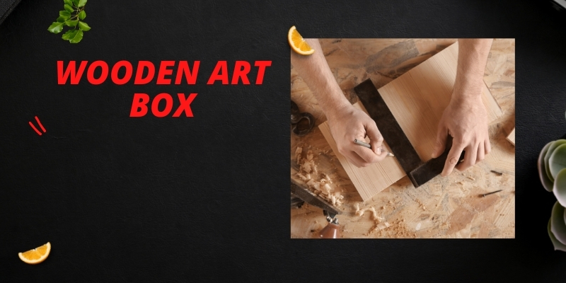 review of wooden compact art box